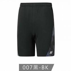 【YONEX】12190TR-007黑 男款羽球短褲