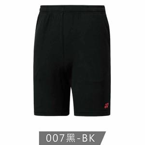 【YONEX】12200TR-007黑 男款羽球短褲