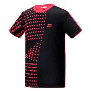 【YONEX】13200TR-007黑 男款羽球服