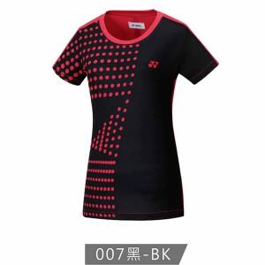 【YONEX】23200TR-007黑 女款羽球服