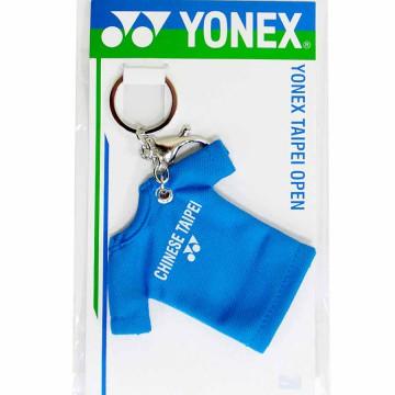 【YONEX】TP OPEN限量紀念商品T-Shirt吊飾(紅綠藍)