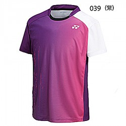 【YONEX】11717男款漸層雙色吸濕排汗抗菌小立領潮T(二色)