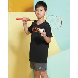 【YONEX】11736J兒童款吸濕排汗抗菌圓領T(三色)