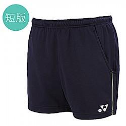 【YONEX】11755男款短版吸濕排汗短褲