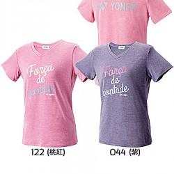 【YONEX】16258女款FORCA吸濕排汗桃領T(三色)