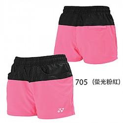 【YONEX】21756女款雙色吸濕排汗短褲(二色)