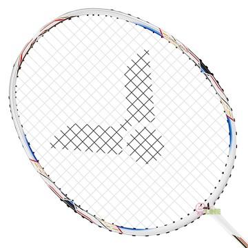 【VICTOR】極速JS-06A白色塗裝3U進階羽球拍