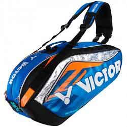 【VICTOR】BR9208-OF風火橘旗艦12支裝鞋袋隔層羽拍包(雙肩)