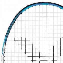 【VICTOR】JS-12N孔雀藍中管快彈穩定快速攻防雙打羽球拍
