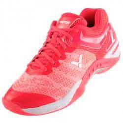 【VICTOR】SH-S81F-Q梭織緹花布鞋面超輕彈女款比賽級羽球鞋