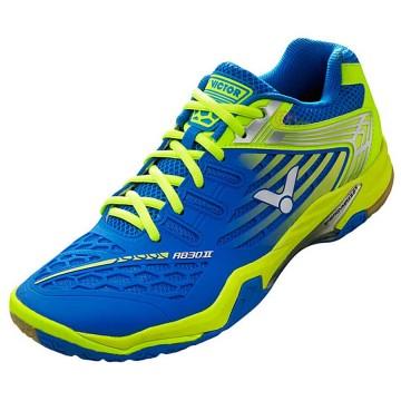 【VICTOR】SH-A830II FG亮藍/螢光綠全面進化PU鞋面3.5超寬楦羽球鞋