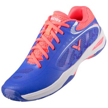 【VICTOR】SH-A900F-JO淺紫/珊瑚澄 第一雙完全從女性角度量身打造比賽級羽球鞋