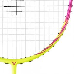 【VICTOR】神速ARS-70F粉 輕巧靈活速度快女生攻防羽球拍