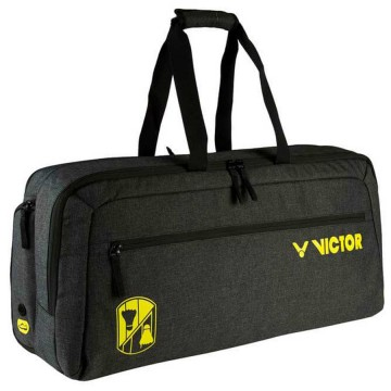 【VICTOR】BR3612C瑪瑙黑 12支裝時尚個性控側背矩型拍