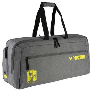 【VICTOR】BR3612H中灰 12支裝時尚個性控側背矩型拍包