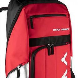 【VICTOR】BR8809 DC跑車紅/黑 雙肩透氣減壓長型羽網球拍後背包