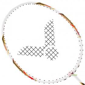 【VICTOR】JS-07H-A白雙打極速4U耐33超高磅攻擊羽球拍