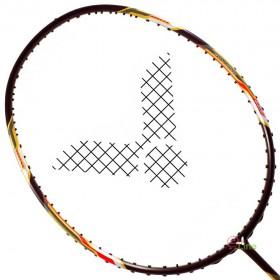 【VICTOR】JS-07H-C黑雙打極速4U耐33超高磅攻擊羽球拍