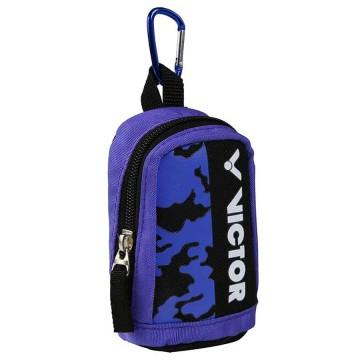 【VICTOR】PG8801JC淺虹紫/黑 登山D型扣環迷你版超可愛零錢包