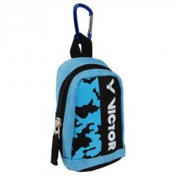 【VICTOR】PG8801MC水藍/黑 登山D型扣環迷你版超可愛零錢包