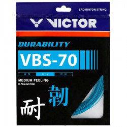 【VICTOR】VBS-70高耐久響亮的擊球音羽拍線(0.7mm)