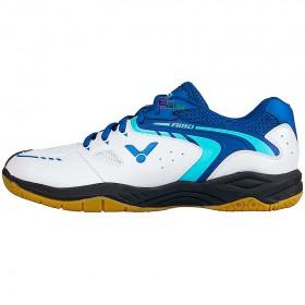 【VICTOR】A190-AB白標準藍 寬楦頭全面型羽球鞋