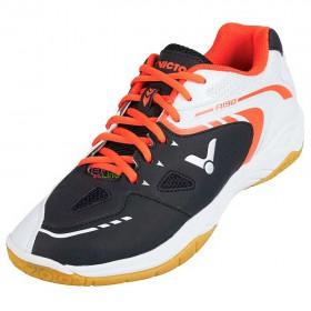【VICTOR】A190-CA黑白 寬楦頭全面型羽球鞋