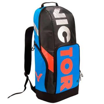 【VICTOR】BR8018-FC明亮藍/黑 長型透氣後背包