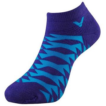 【VICTOR】C-5055J藍紫 男女款腳踝止滑襪 L25~28cm