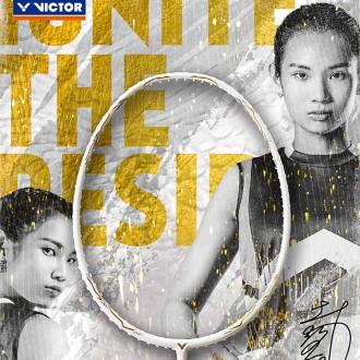 【VICTOR】突擊TK-F C-A亮白 金裝再進化戴資穎指定羽球拍