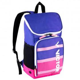 【VICTOR】BR003JR-JQ淺虹紫/玫瑰紅 減緩肩部壓力學生後背包