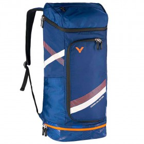 【VICTOR】BR3817B深藍 專屬置鞋層長型後背包