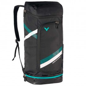 【VICTOR】BR3817C黑 專屬置鞋層長型後背包