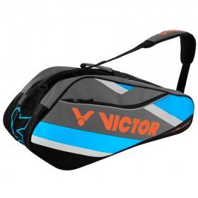 【VICTOR】BR6212F景泰藍 12支裝單肩羽球拍包