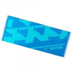 【VICTOR】C-4158F藍 羽球設計款運動大毛巾100cm