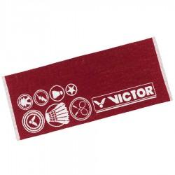 【VICTOR】C-4159D酒紅 設計款運動毛巾85cm