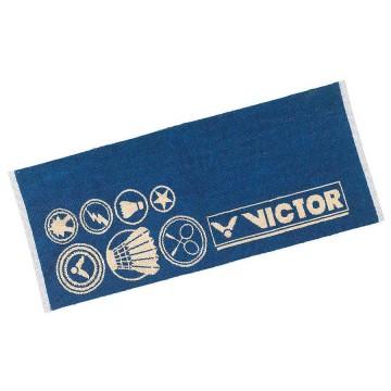 【VICTOR】C-4159F羅馬藍 設計款運動毛巾85cm