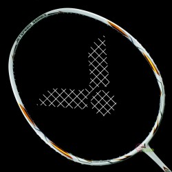 【VICTOR】JS-T1-A珍珠瓷白 台灣專屬4U輕量好上手羽球拍