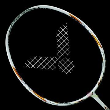 【VICTOR】極速JS-T1-A珍珠瓷白 台灣專屬4U輕量好上手羽球拍