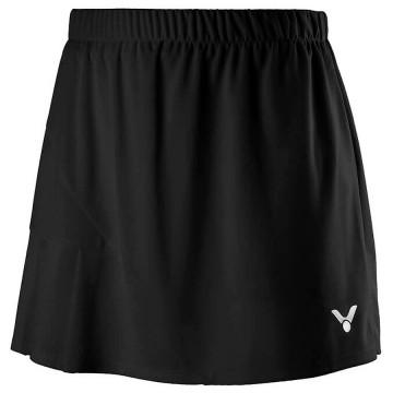 【VICTOR】K-91302C黑 針織運動短裙