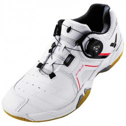 【VICTOR】P7810-A亮白 零碼特價快速綁帶系統羽球鞋