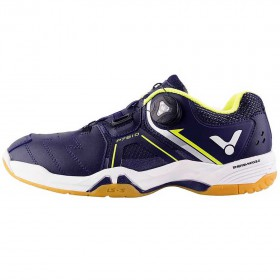 【VICTOR】P7810-B暮藍 快速綁帶系統羽球鞋