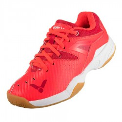 【VICTOR】P8510JR-DA鮮紅/亮白 兒童羽球鞋