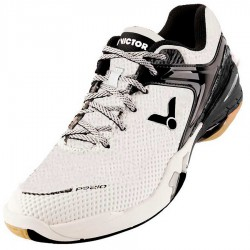 【VICTOR】P9210-AC蒸餾白/無煙煤黑 穩定透氣避震羽球鞋