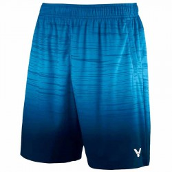 【VICTOR】R-90202B世紀藍 漸層系針織運動短褲