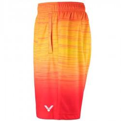 【VICTOR】R-90202D帕拉代斯紅 漸層系針織運動短褲