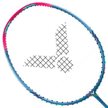 【VICTOR】重鎚TK-HMR-LIGHT-H青灰 6U超輕攻擊羽球拍
