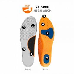 【VICTOR】勝利VT-XD8H高足弓高彈力運動鞋墊