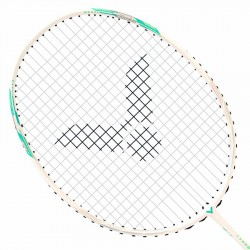 【VICTOR】神速ARS-70FA雪白 三段式框型輕巧靈活4U羽球拍