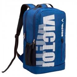 【VICTOR】BR-6013BA午夜藍/白 雙肩後背包